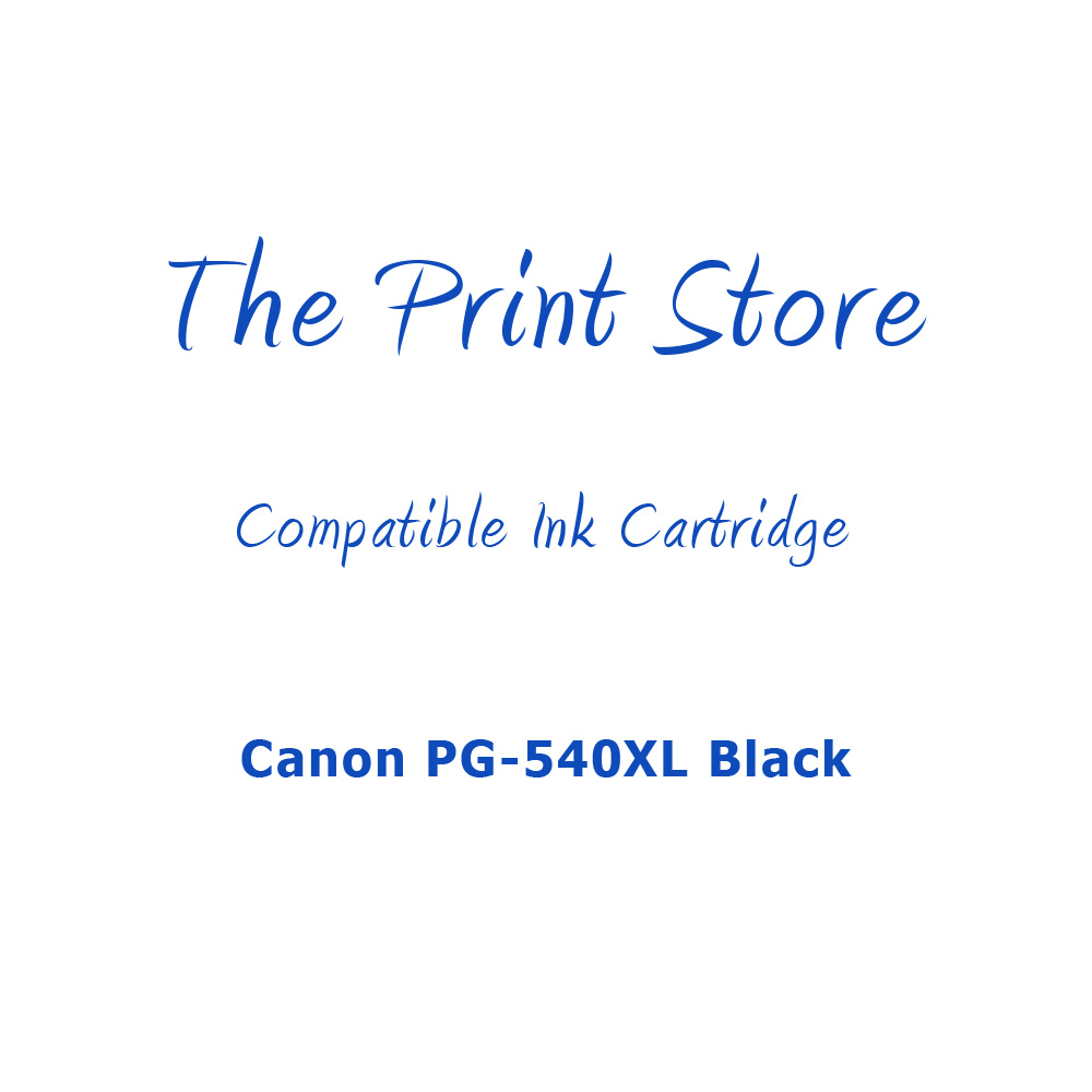 Canon PG-540XL Black Compatible Ink Cartridge