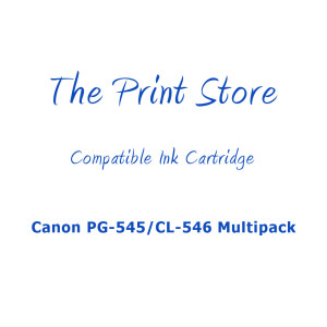 Canon PG-545/CL-546 Multipack Compatible Ink Cartridges