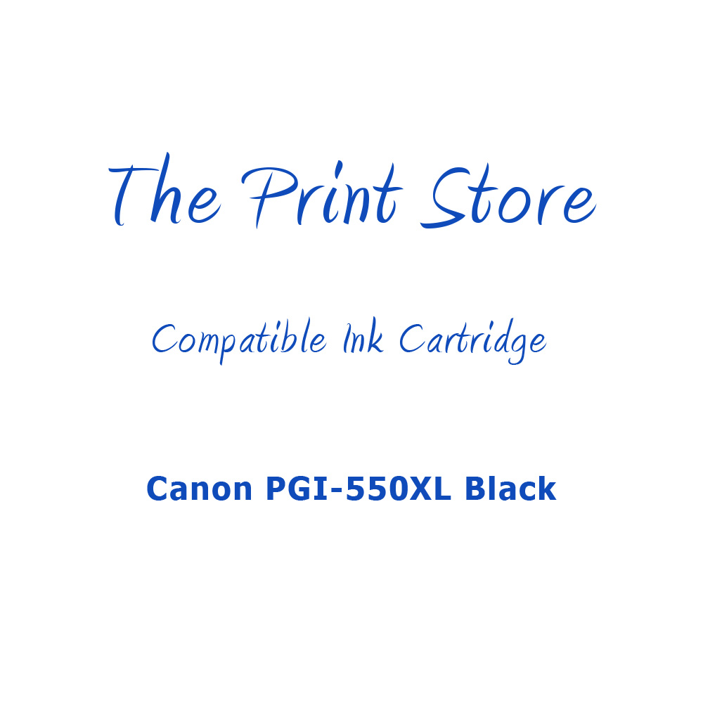 Canon PGI-550XL Black Compatible Ink Cartridge