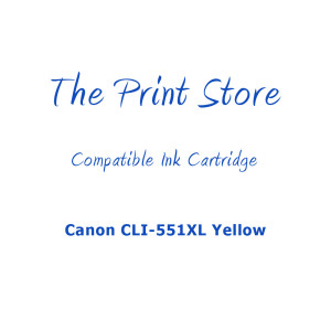 Canon CLI-551XL Yellow Compatible Ink Cartridge
