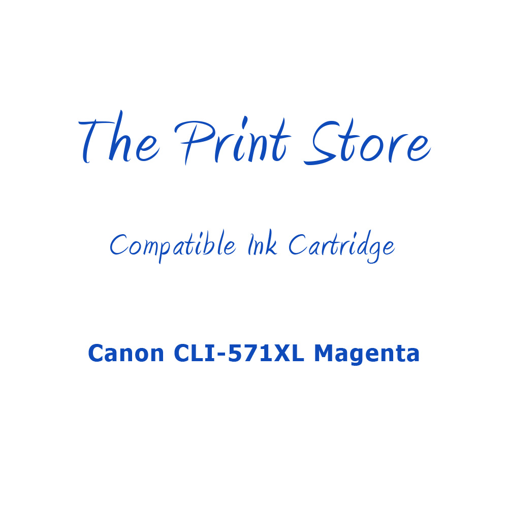 Canon CLI-571XL Magenta Compatible Ink Cartridge