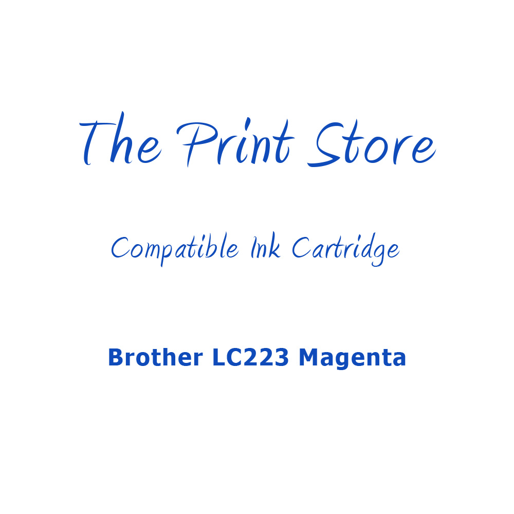 Brother LC223 Magenta Compatible Ink Cartridge