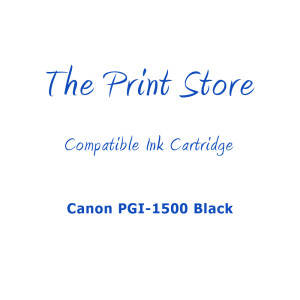 Canon PGI-1500 Black Compatible Ink Cartridge