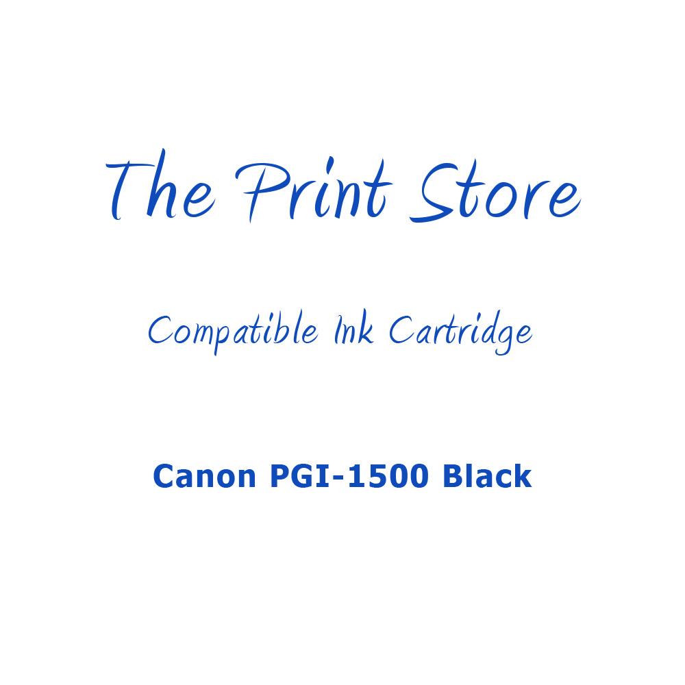 Canon PGI-1500 Black Compatible Ink Cartridge