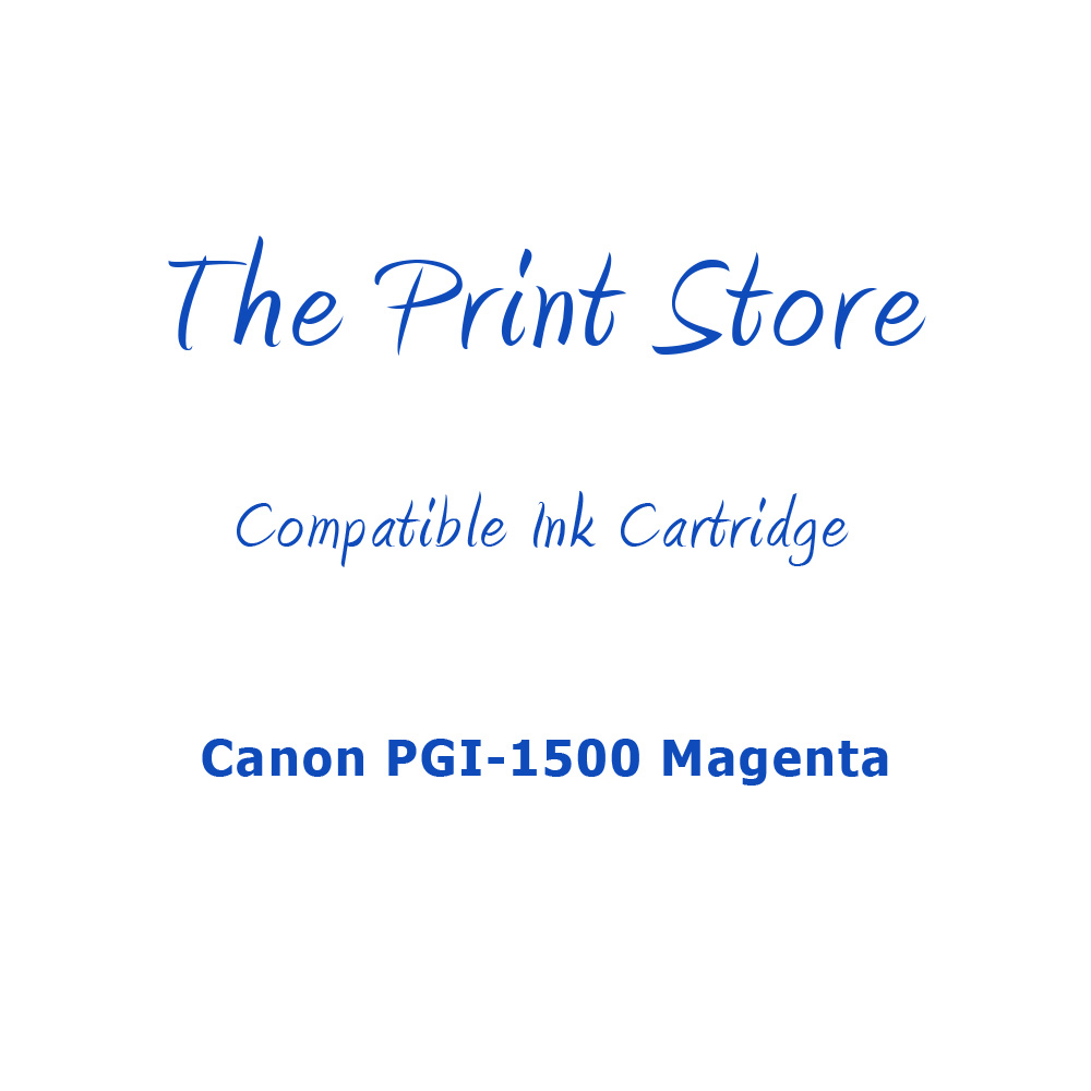 Canon PGI-1500 Magenta Compatible Ink Cartridge