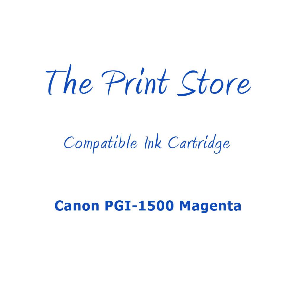 Canon PGI-1500 Magenta Compatible Ink Cartridge