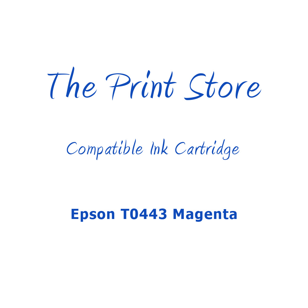Epson T0443 Magenta Compatible Ink Cartridge