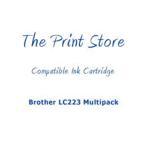 Brother LC223 Multipack Compatible Ink Cartridges