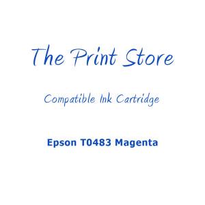 Epson T0483 Magenta Compatible Ink Cartridge