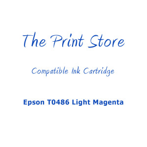 Epson T0486 Light Magenta Compatible Ink Cartridge