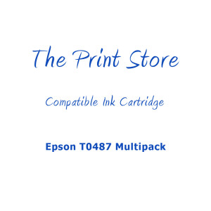 Epson T0487 Multipack Compatible Ink Cartridges