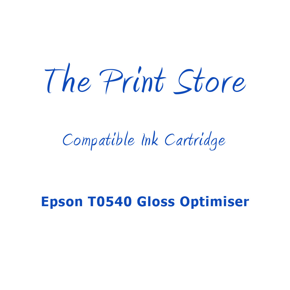 Epson T0540 Gloss Optimiser Compatible Ink Cartridge