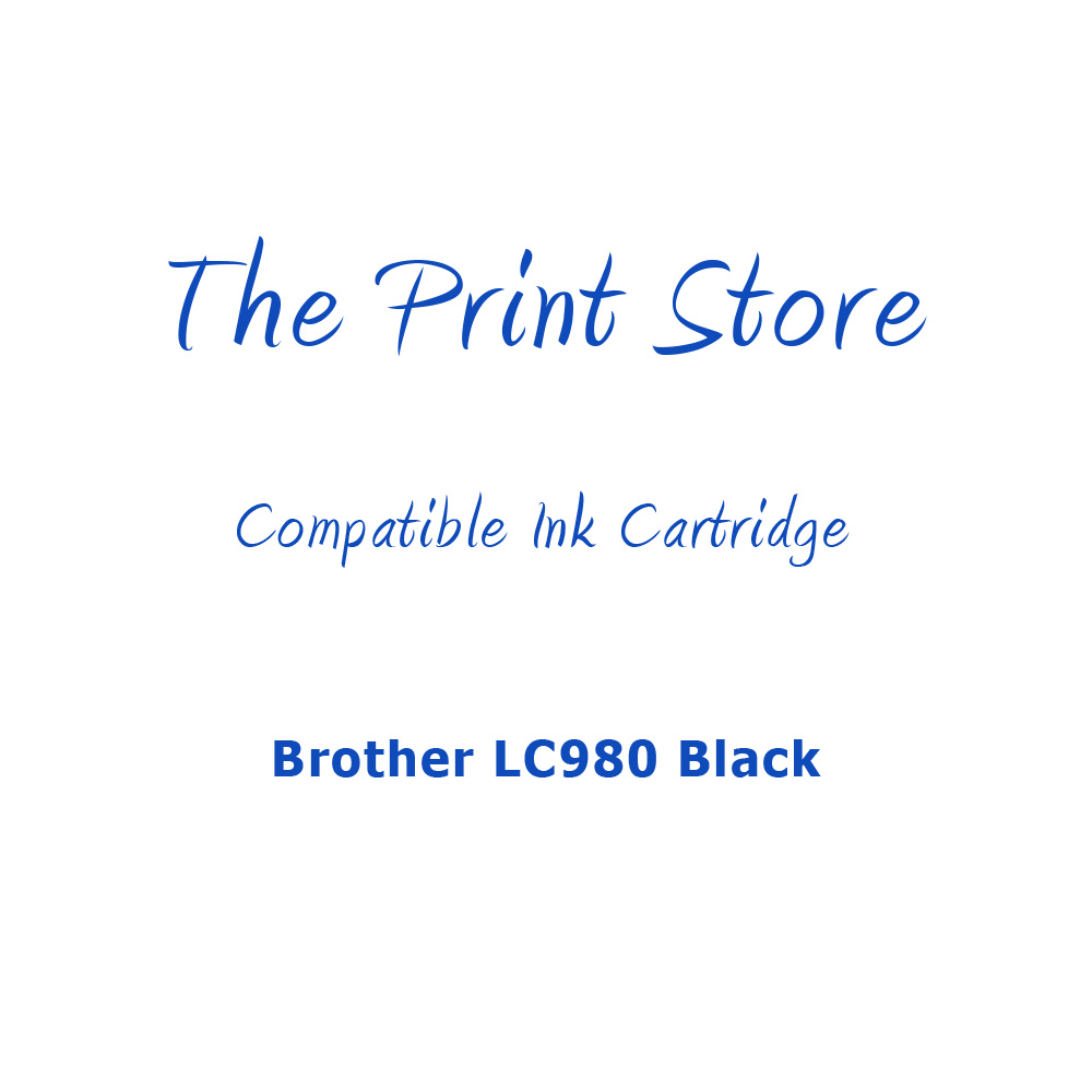 Brother LC980 Black Compatible Ink Cartridge