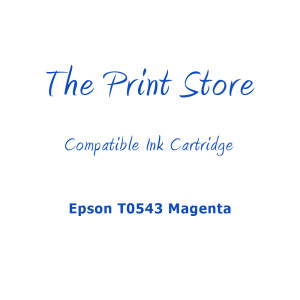 Epson T0543 Magenta Compatible Ink Cartridge