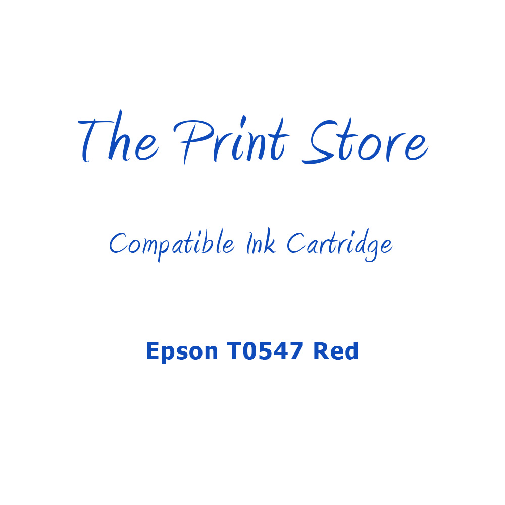 Epson T0547 Red Compatible Ink Cartridge
