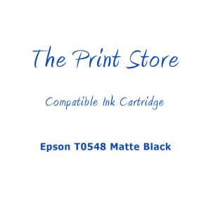 Epson T0548 Matte Black Compatible Ink Cartridge