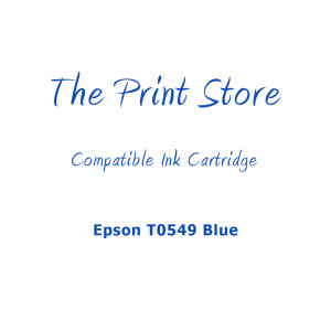 Epson T0549 Blue Compatible Ink Cartridge