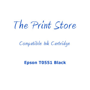 Epson T0551 Black Compatible Ink Cartridge