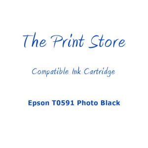 Epson T0591 Photo Black Compatible Ink Cartridge