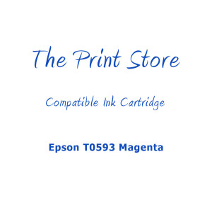 Epson T0593 Magenta Compatible Ink Cartridge