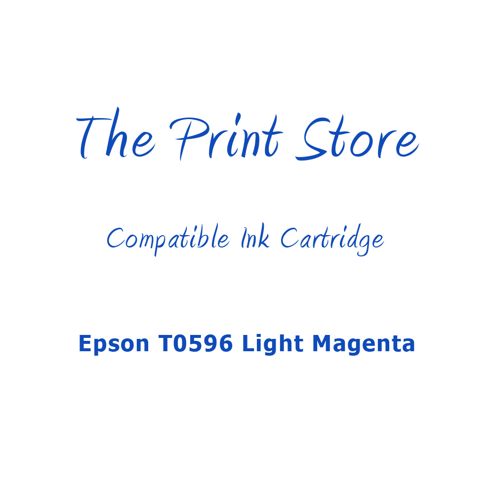 Epson T0596 Light Magenta Compatible Ink Cartridge