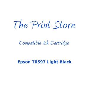 Epson T0597 Light Black Compatible Ink Cartridge