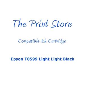 Epson T0599 Light Light Black Compatible Ink Cartridge