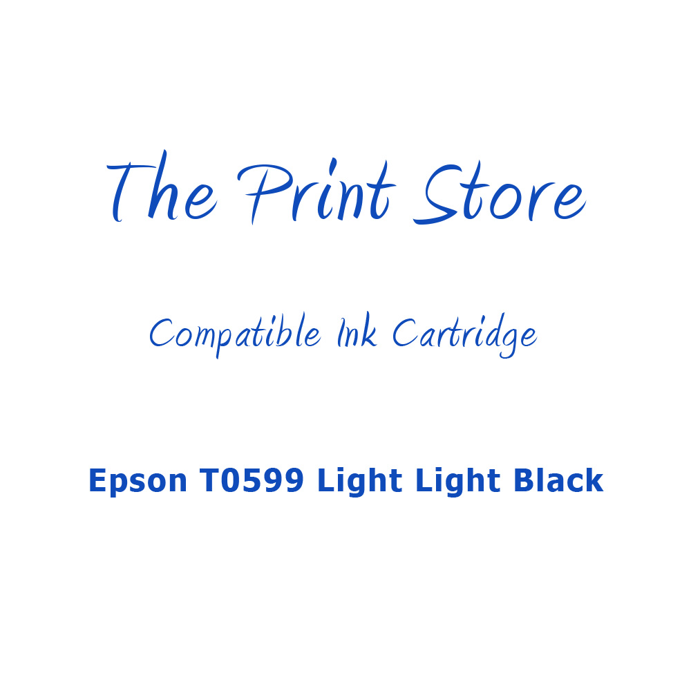 Epson T0599 Light Light Black Compatible Ink Cartridge