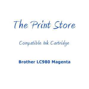 Brother LC980 Magenta Compatible Ink Cartridge