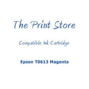 Epson T0613 Magenta Compatible Ink Cartridge
