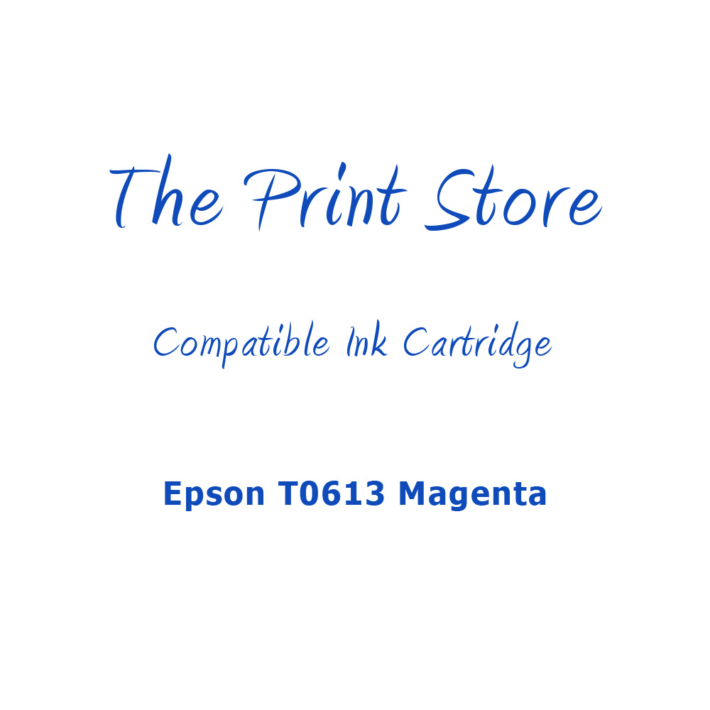 Epson T0613 Magenta Compatible Ink Cartridge
