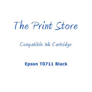 Epson T0711 Black Compatible Ink Cartridge