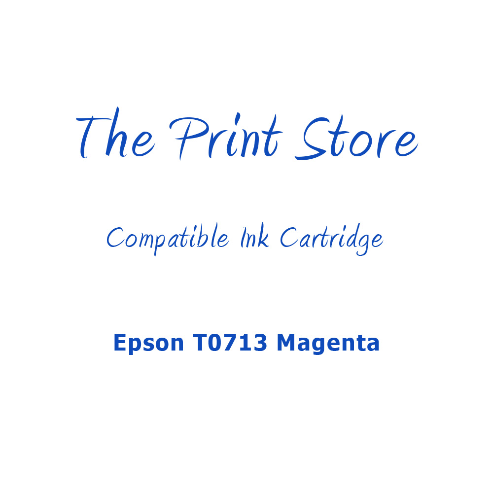 Epson T0713 Magenta Compatible Ink Cartridge