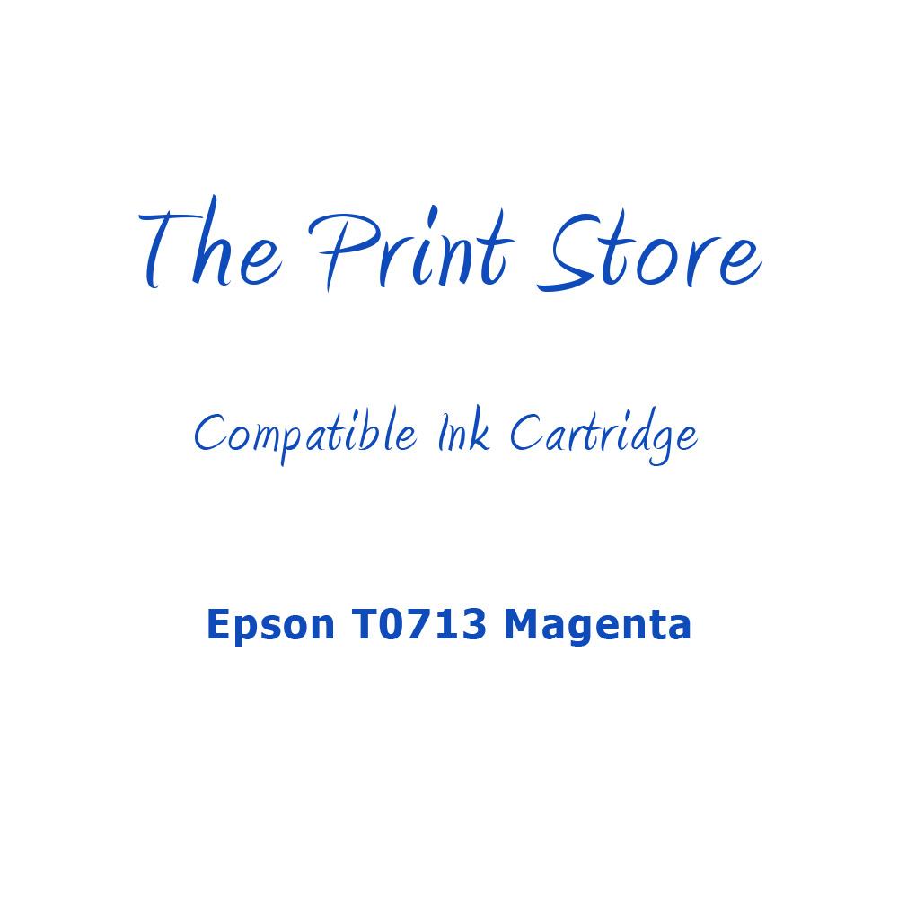 Epson T0713 Magenta Compatible Ink Cartridge