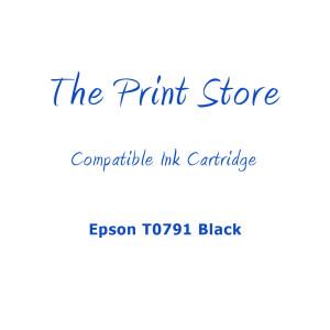 Epson T0791 Black Compatible Ink Cartridge