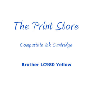 Brother LC980 Yellow Compatible Ink Cartridge