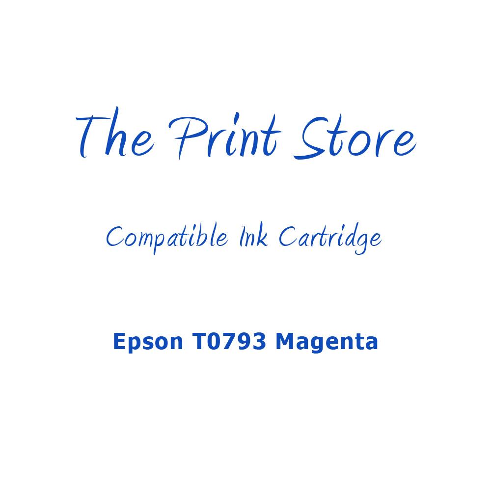 Epson T0793 Magenta Compatible Ink Cartridge