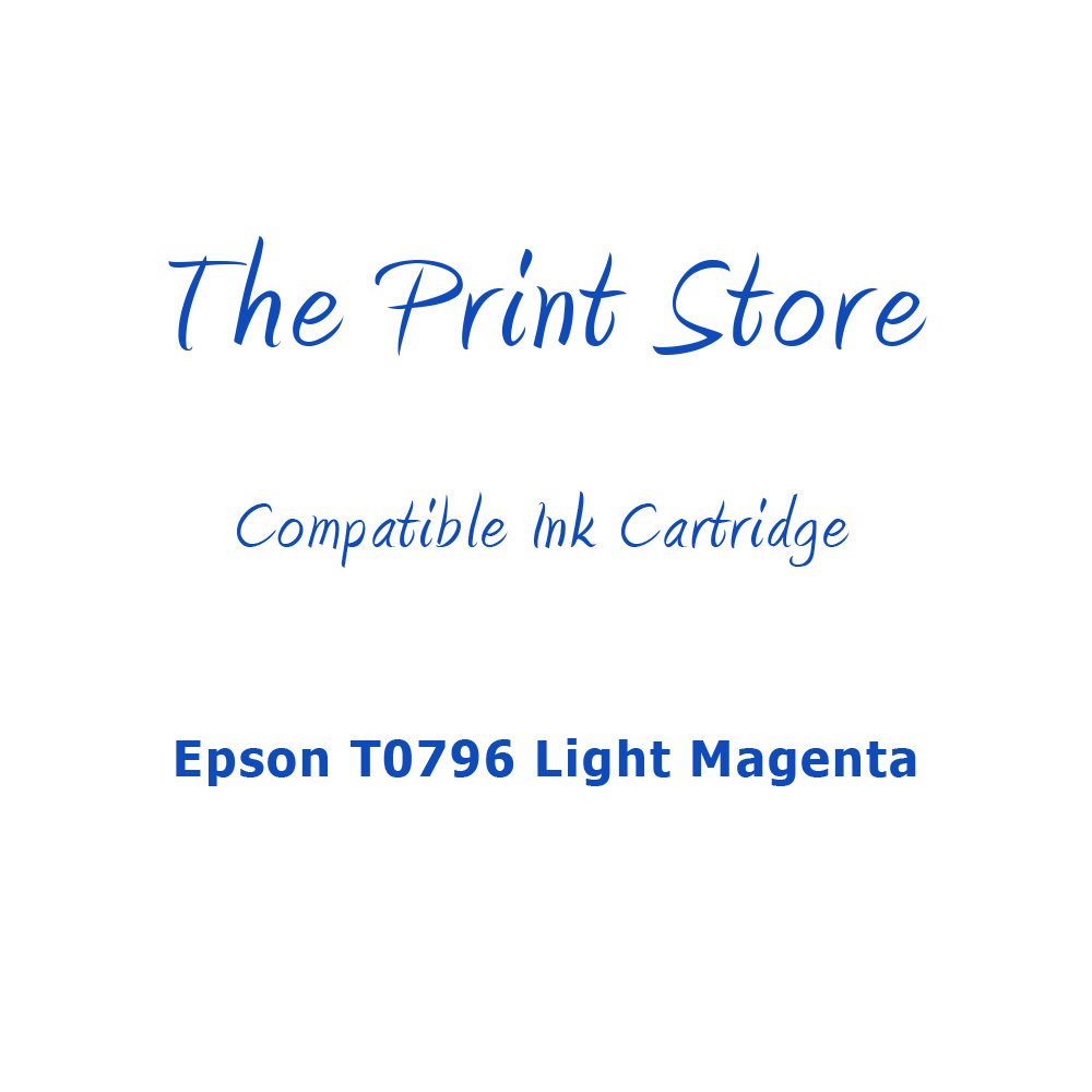 Epson T0796 Light Magenta Compatible Ink Cartridge