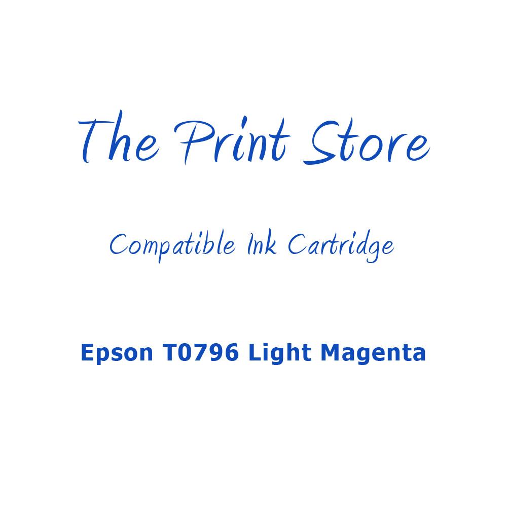 Epson T0796 Light Magenta Compatible Ink Cartridge