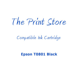 Epson T0801 Black Compatible Ink Cartridge