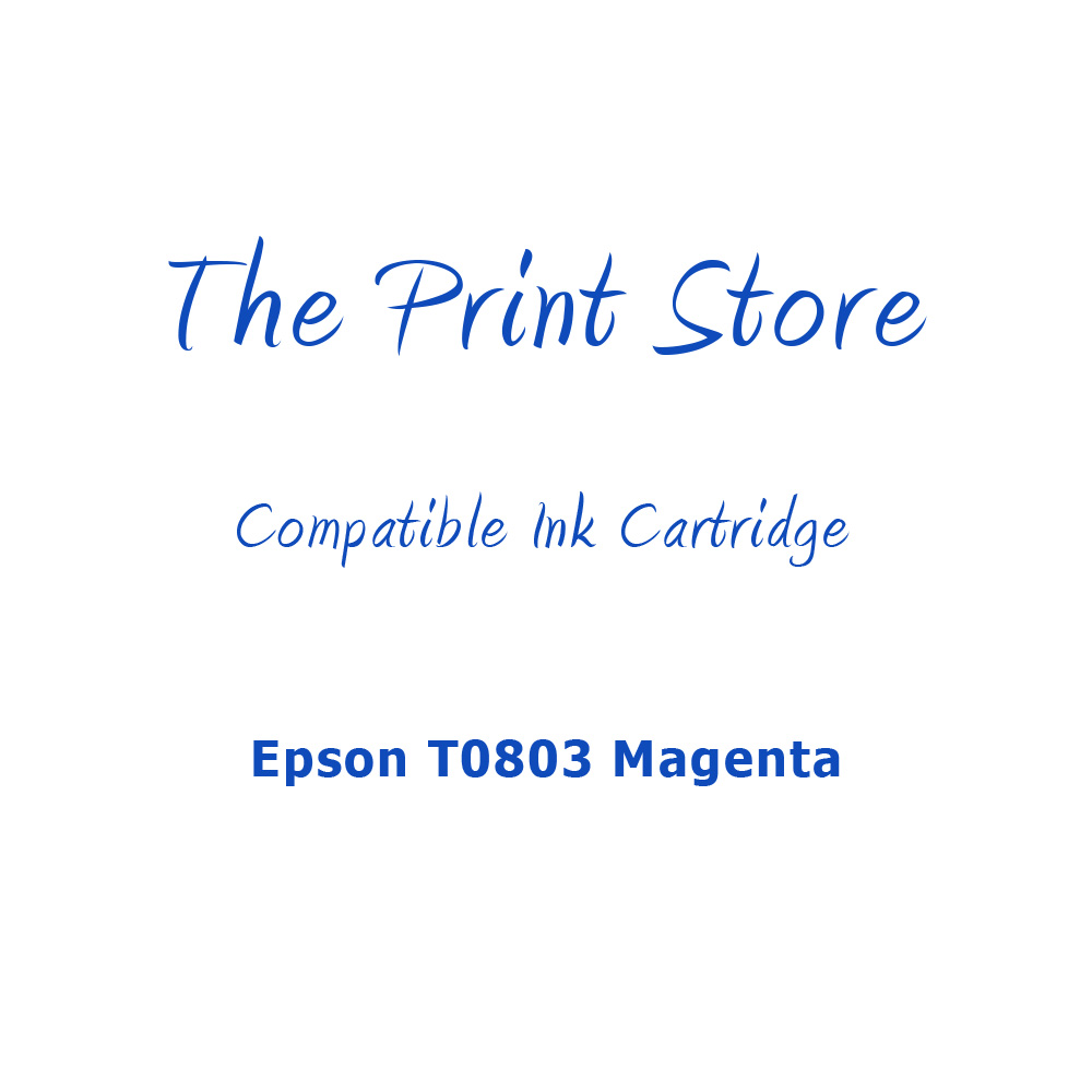 Epson T0803 Magenta Compatible Ink Cartridge