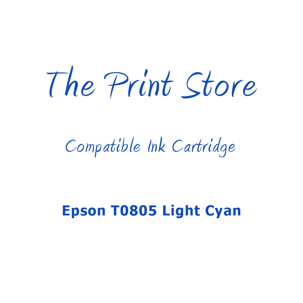 Epson T0805 Light Cyan Compatible Ink Cartridge
