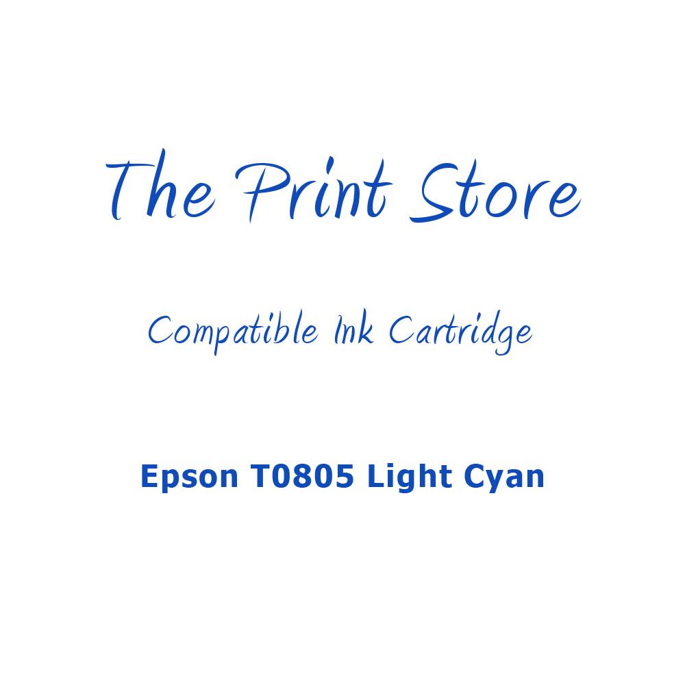 Epson T0805 Light Cyan Compatible Ink Cartridge