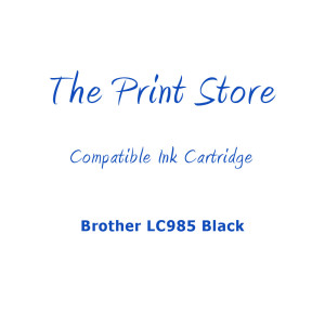 Brother LC985 Black Compatible Ink Cartridge