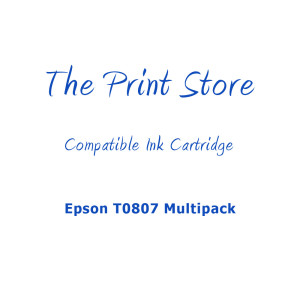 Epson T0807 Multipack of Compatible Ink Cartridges