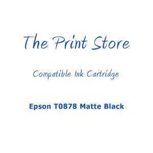 Epson T0878 Matte Black Compatible Ink Cartridge