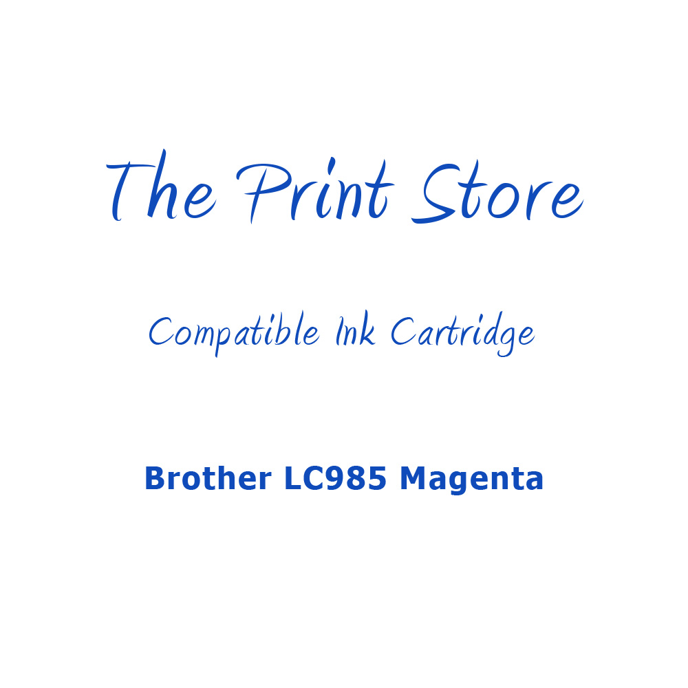 Brother LC985 Magenta Compatible Ink Cartridge