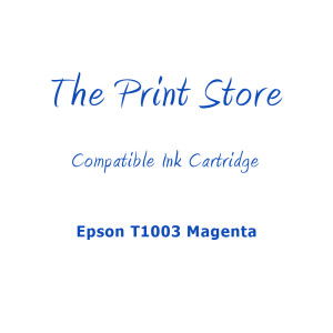 Epson T1003 Magenta Compatible Ink Cartridge