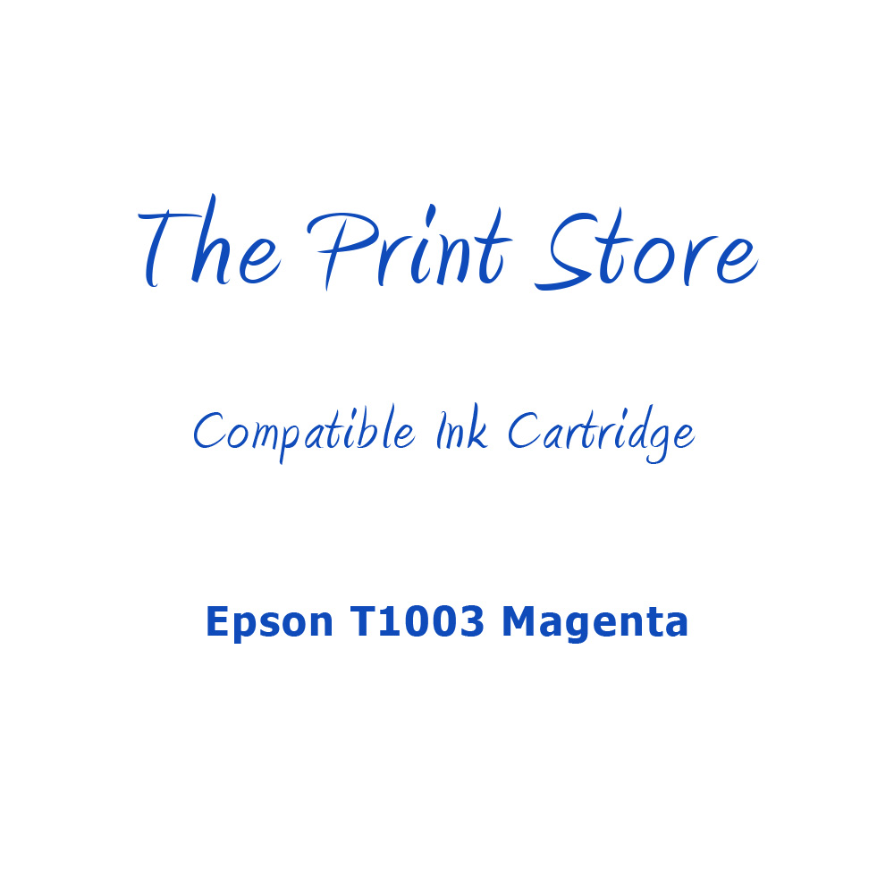Epson T1003 Magenta Compatible Ink Cartridge