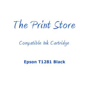 Epson T1281 Black Compatible Ink Cartridge
